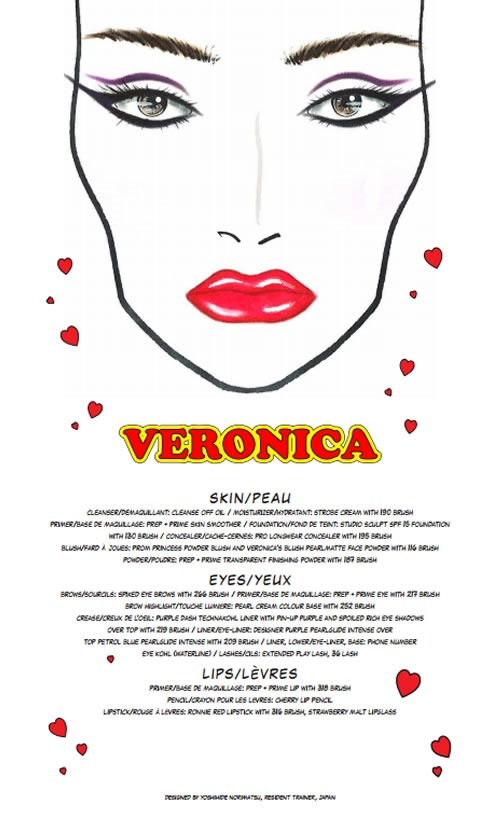 Archies-Girls-Veronica-Coleccion-MAC-Cosmetics-Face-Chart-1