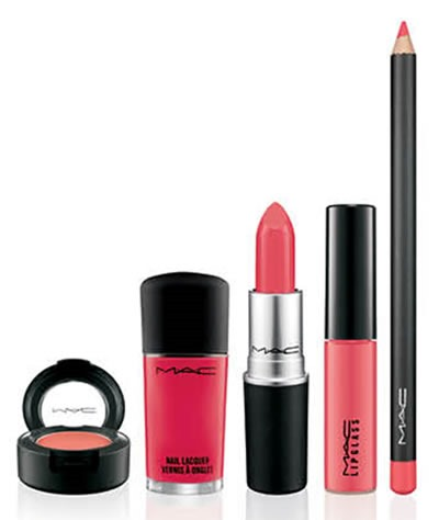 Fashion-Sets-MAC-Cosmetics-Coleccion-Ablaze-maquillaje-naranja-coral
