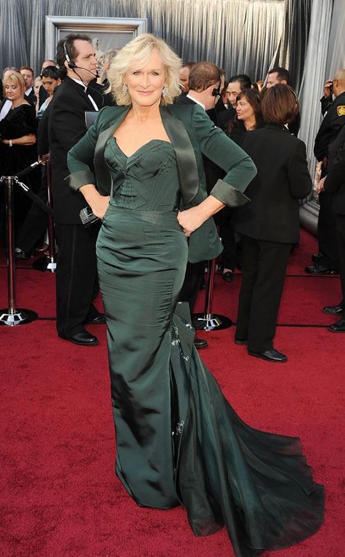 Glenn-Close-vestido-alfombra-roja-Oscar-2012