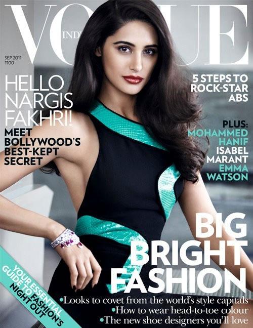 Vogue-Portada-India-Setiembre-2011-Nargis-Fakhri