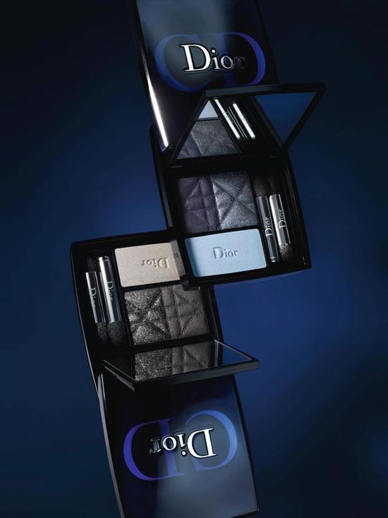 dior-blue-tie-coleccion-otono-invierno-2011-3 couleurs smoky palettes-1
