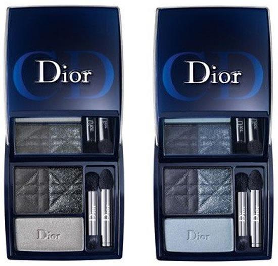 dior-blue-tie-coleccion-otono-invierno-2011-3 couleurs smoky palettes
