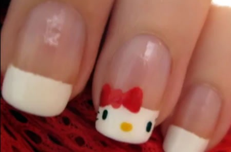 diseno-de-unas-hello-kitty