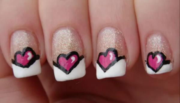 diseno-de-unas-san-valentin-manicure-corazones