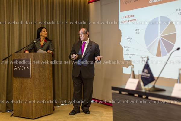 Avon Dr Raul Velarde Liga Peruana Contra el Cancer