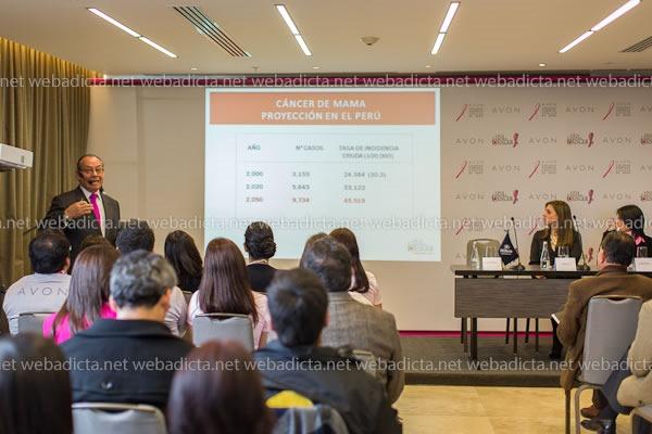 Avon Dr Raul Velarde Liga Peruana Contra el Cancer 1