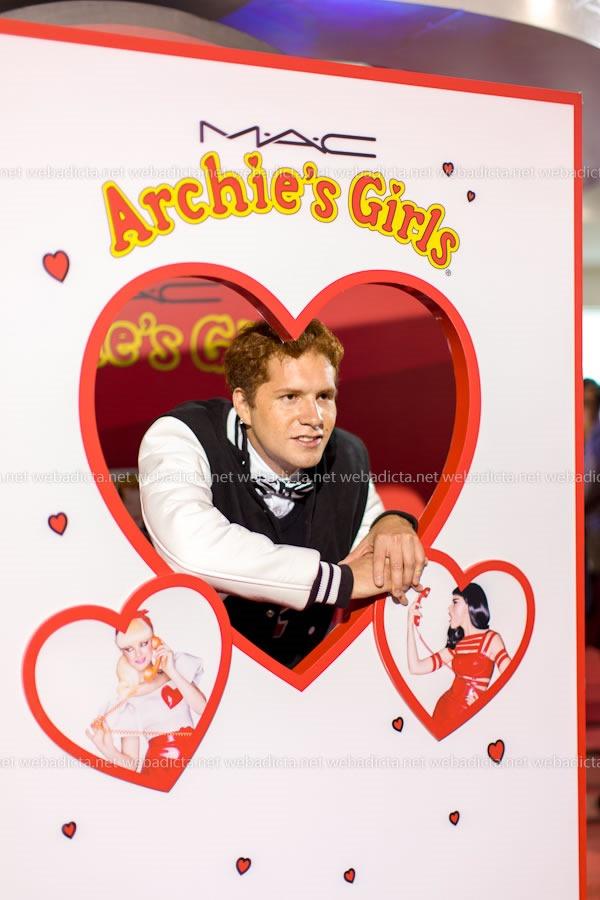 evento-lanzamiento-mac-cosmetics-archies-girls-Archie-2
