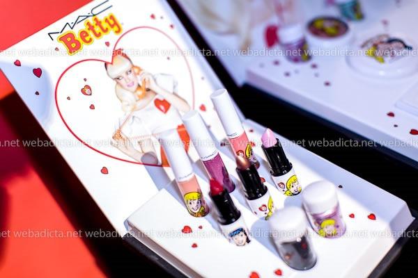 evento-mac-cosmetics-archies-girls-Betty-coleccion