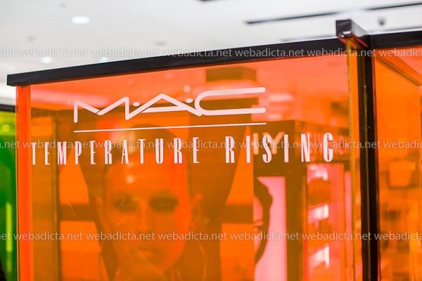 Coleccion MAC Temperature Rising Evento Lanzamiento 1