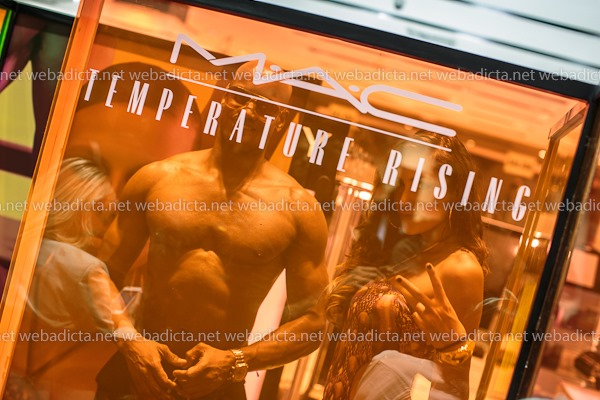 MAC Temperature Rising Evento Lanzamiento
