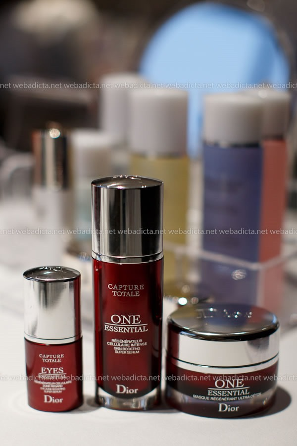 evento Dior Beauty Class One Essential