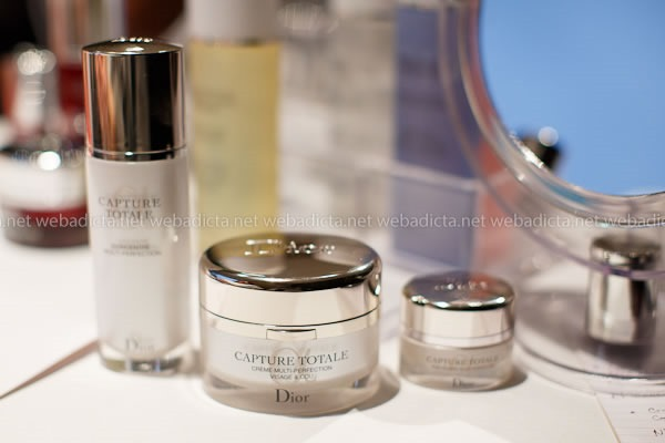 evento Dior Beauty Class Capture Totale Crema Serum