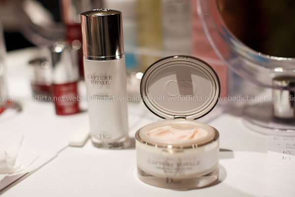 evento Dior Beauty Class Capture totale Crema