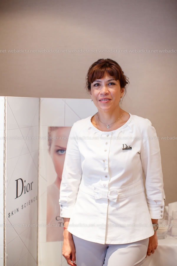 evento Dior Beauty Class One Essential Lima Martha Cadena