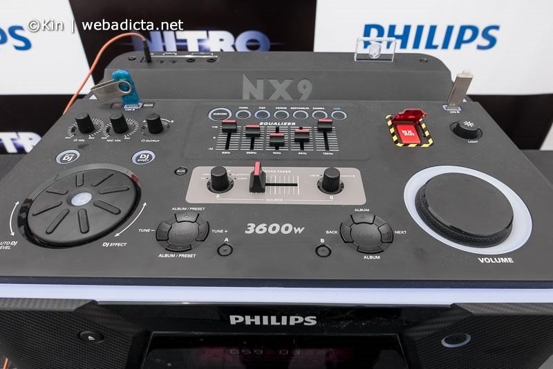 philips consola del equipo Nitro NX9