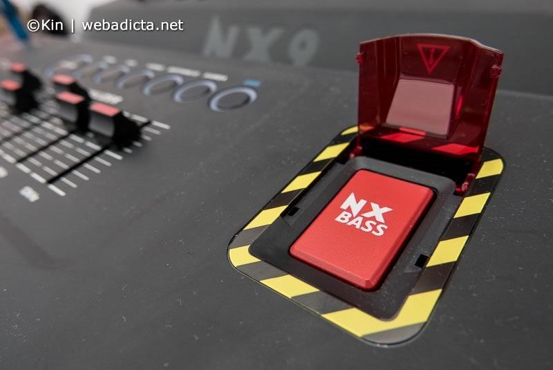 philips nitro nx9 boton de graves NX Bass