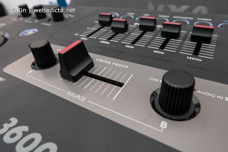 equipo de sonido philips nitro nx9 crossfader