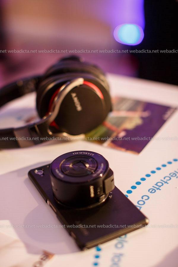 Lentes Smart Lens Sony QX10 NFC para Smartphones