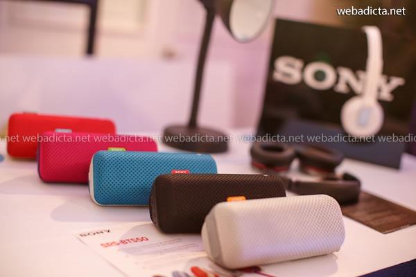 parlantes portátiles Sony SRS-BTS50 productos con tecnologia NFC