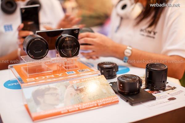 Lentes Smart Lens Sony QX100 y QX10 NFC para Smartphones
