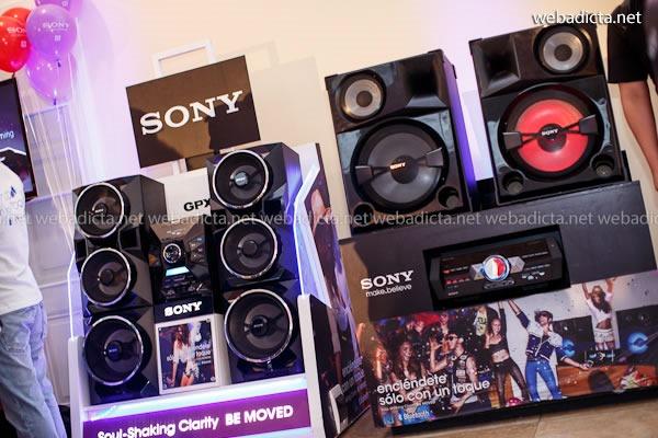 equipos de sonido Sony 2013 NFC