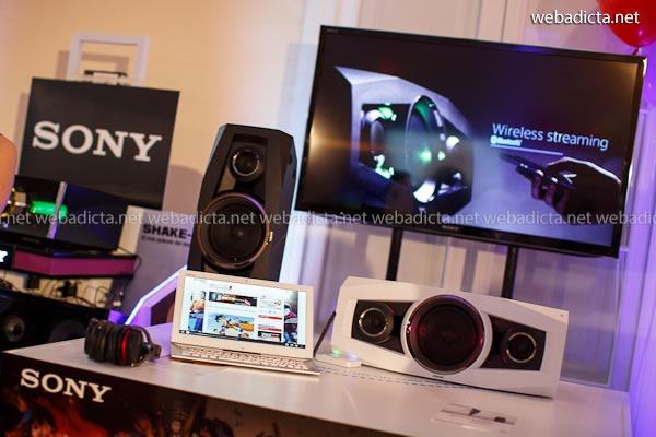 parlante inalámbrico Sony GTK-N1BT 100W NFC
