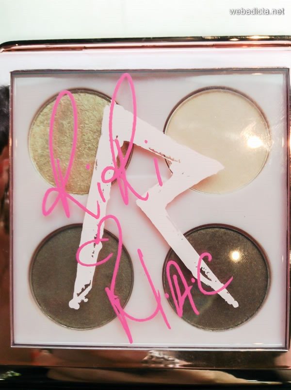RiRi Hearts MAC Eye Shadow x4 Her Cocoa