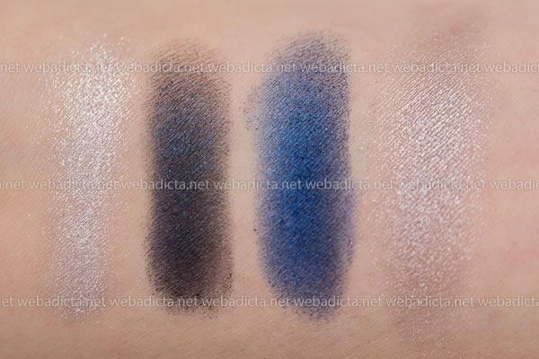 swatches-cuarteto-de-sombras-azules-loreal-quad-pro-midnight-blue-358