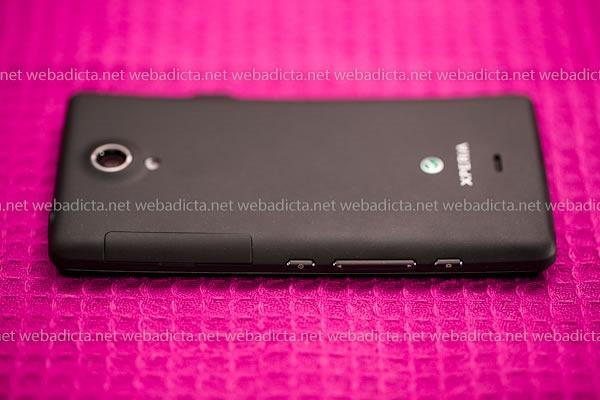 Sony Xperia T Características Botones Bateria Interna