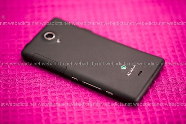 Sony Xperia T Botones