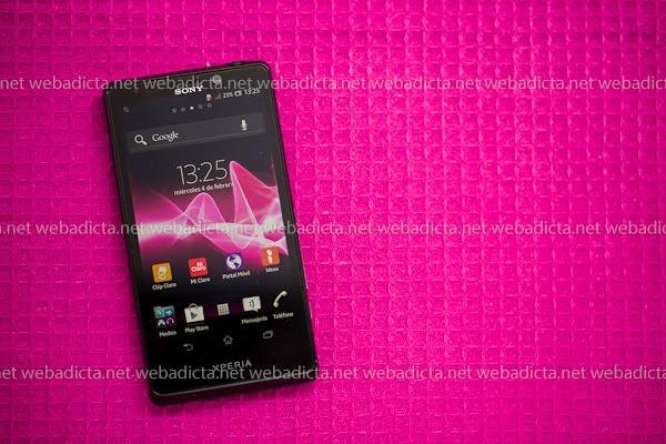 Sony Xperia T Características Pantalla